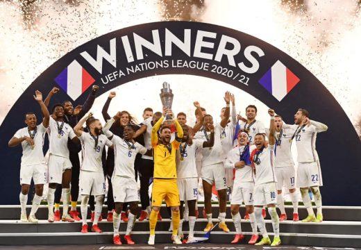 Francia győzelem a Nemzetek Ligája döntőjében
